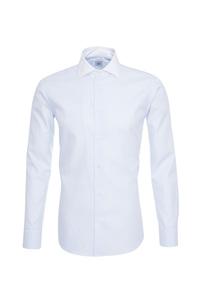 Pánska košeľa informal , farba biela, modrá