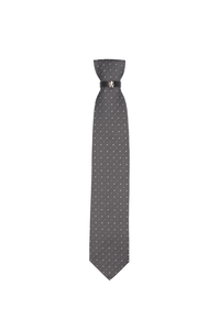 Kravata formal , farba sivá