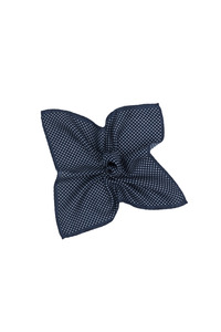 Vreckovka informal , farba modrá