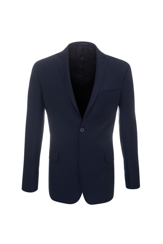 Pánske oblekové sako formal , farba tmavo modrá