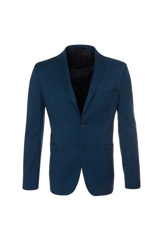 Pánske oblekové sako formal , farba tyrkysová