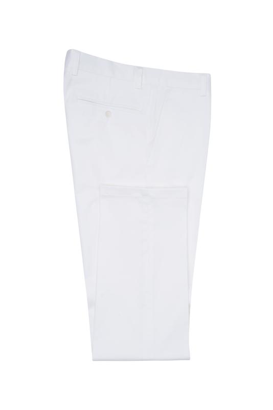 Pánske nohavice informal , farba biela