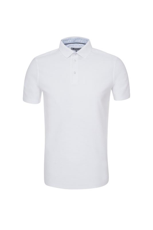 Pánske polo tričko informal , farba biela