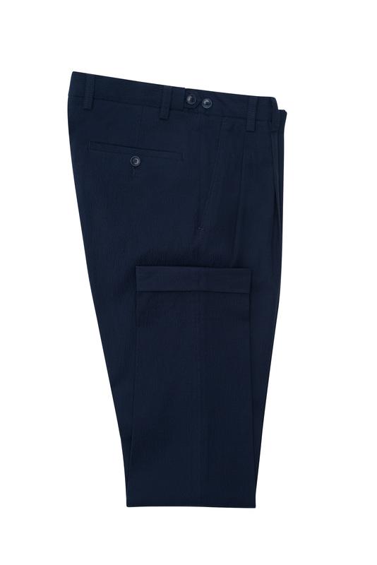 Pánske nohavice casual , farba modrá