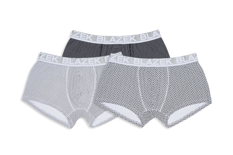 3pack-boxerky informal , farba čierna, biela