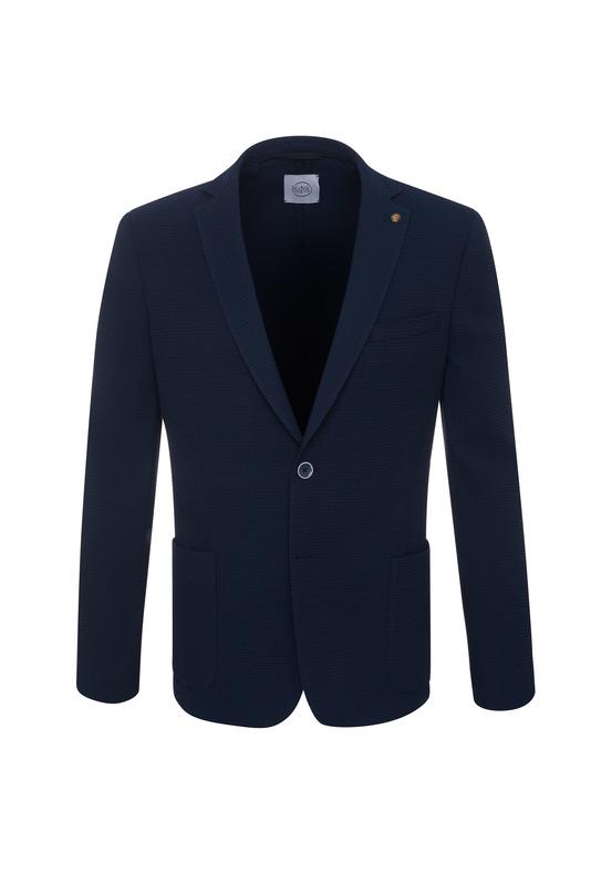 Pánske sako  , farba modrá