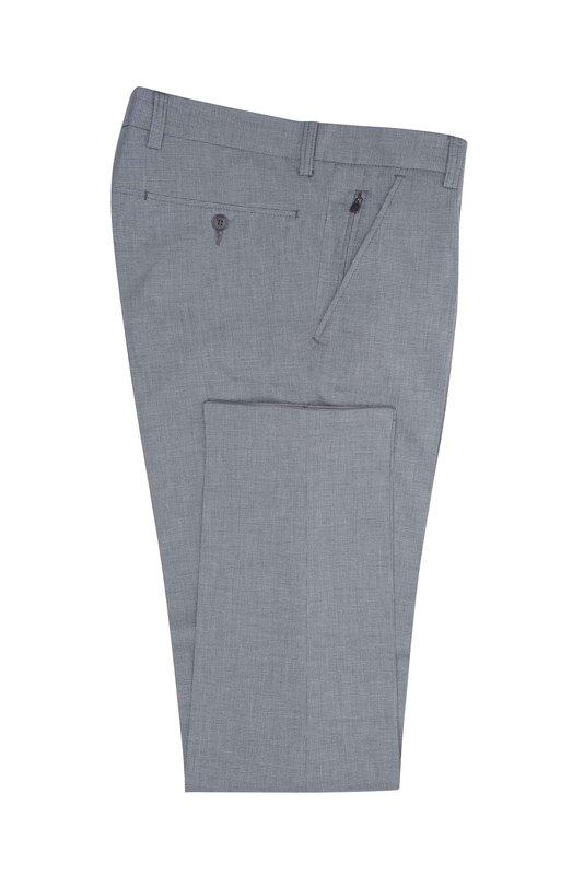 Pánske nohavice informal , farba sivá