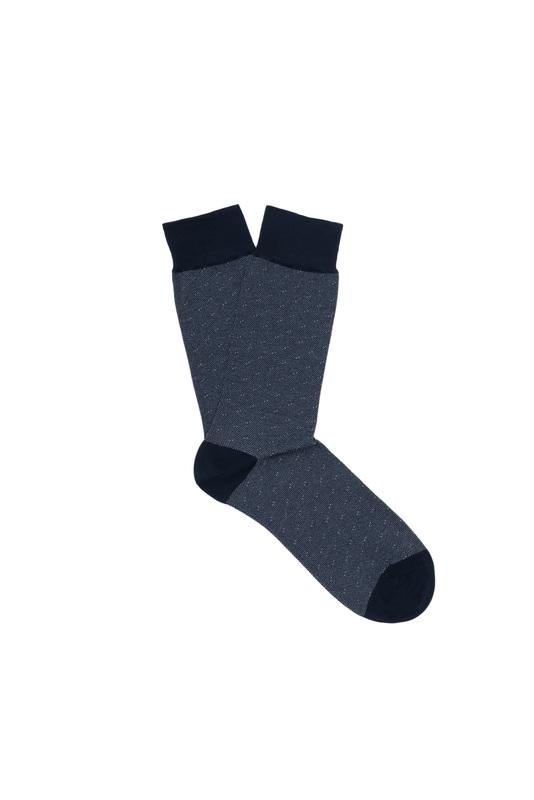 Ponožky  , farba modrá