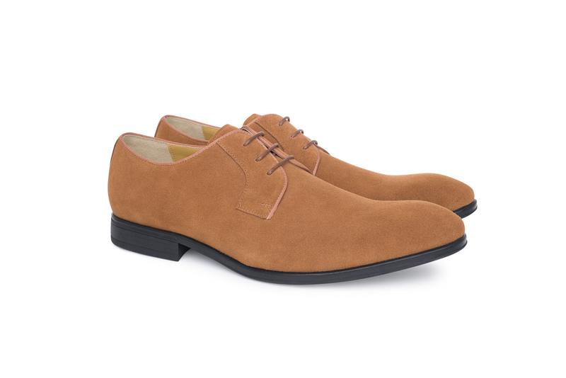 Pánska módna obuv informal , farba hnedá