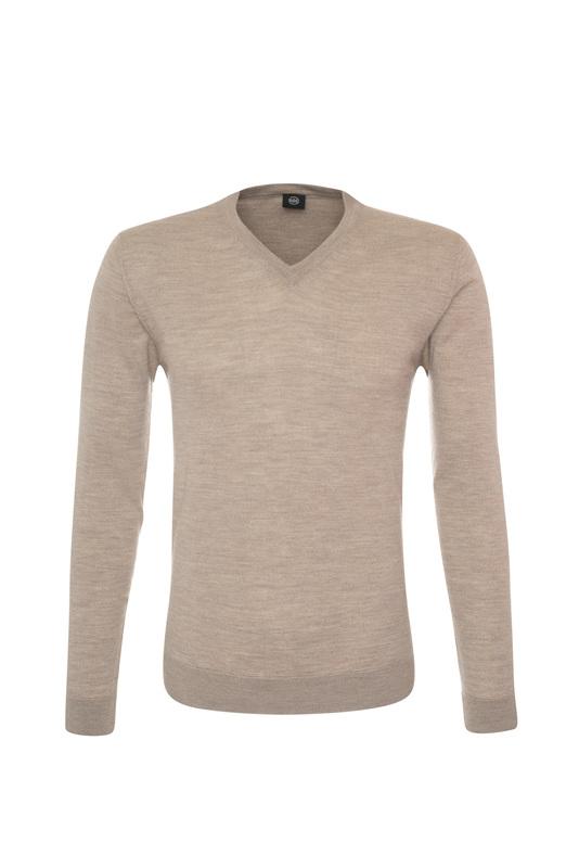 Pánsky sveter informal , farba béžová