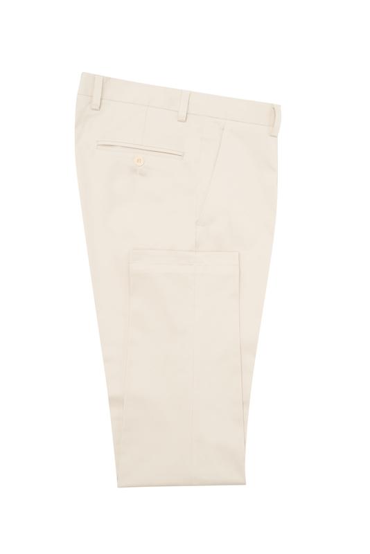 Pánske nohavice informal , farba béžová
