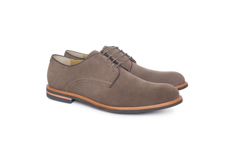 Pánska módna obuv informal , farba sivá