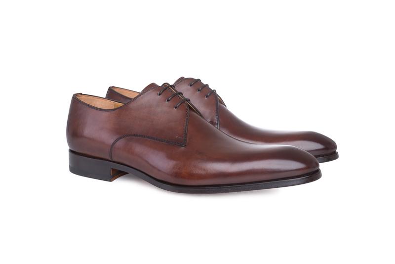 Pánska módna obuv  formal , farba hnedá