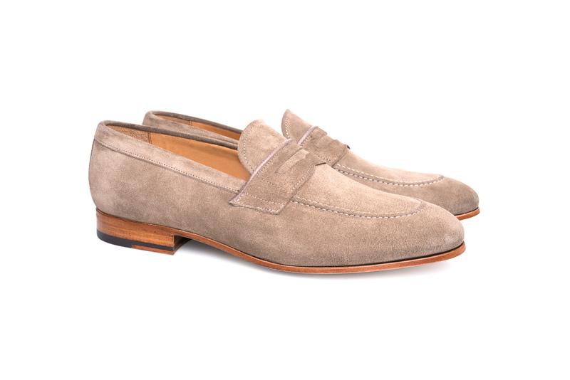 Pánska módna obuv informal , farba béžová