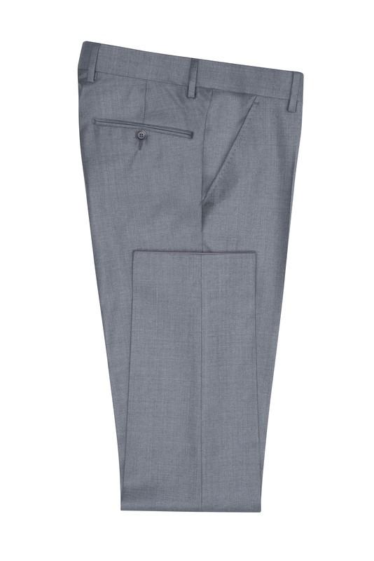 Pánske oblekové nohavice formal , farba sivá