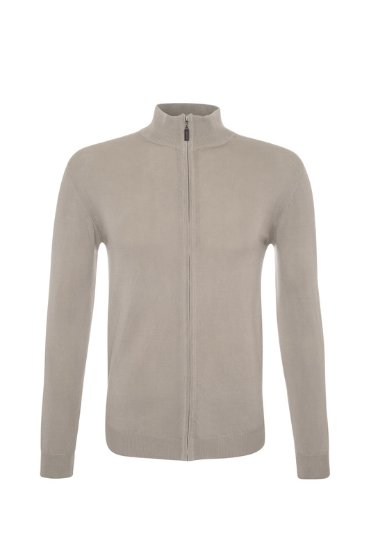 Pánsky sveter casual , farba béžová