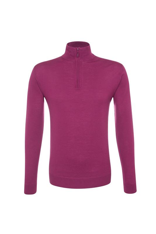 Pánsky sveter informal , farba vínová