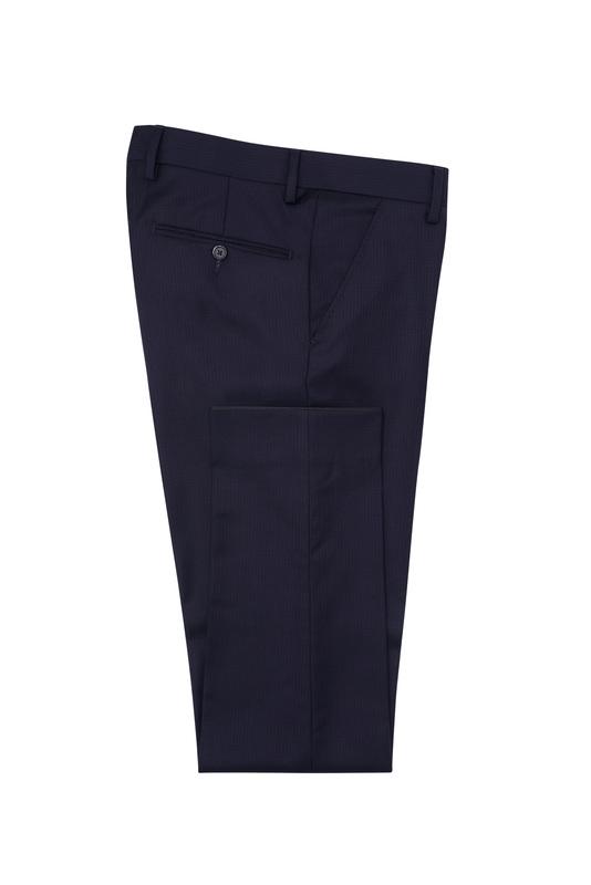 Pánske oblekové nohavice formal , farba fialová