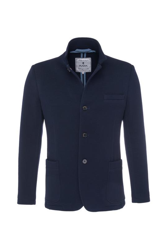 Pánska bunda  informal , farba modrá