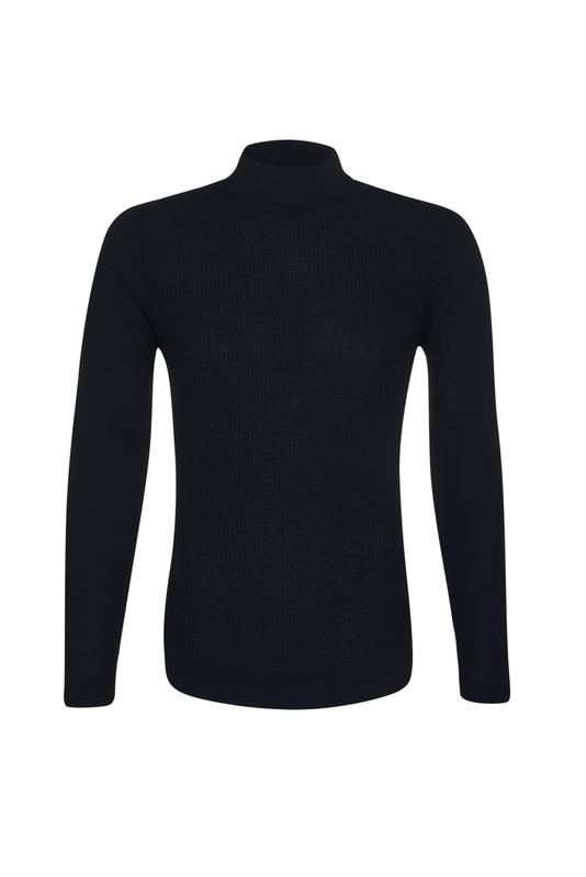 Pánsky sveter  , farba čierna
