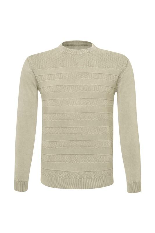 Pánsky sveter  , farba béžová