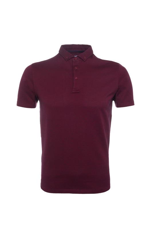 Pánske triko  , farba vínová