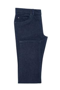 Pánske jeansy casual , farba modrá