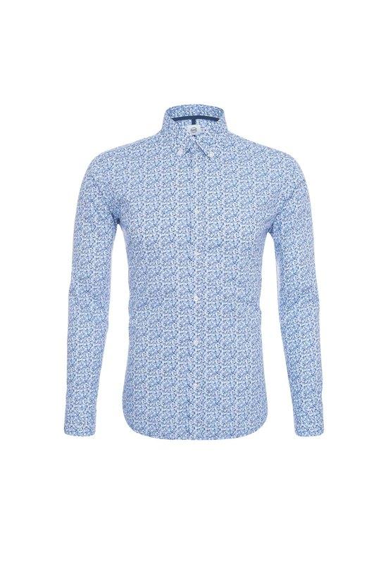 Pánska košeľa casual , farba modrá