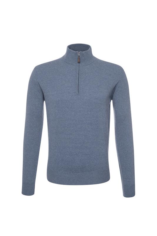 Pánsky sveter  , farba modrá