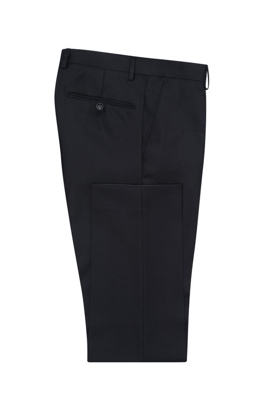 Pánske oblekové nohavice  , farba čierna