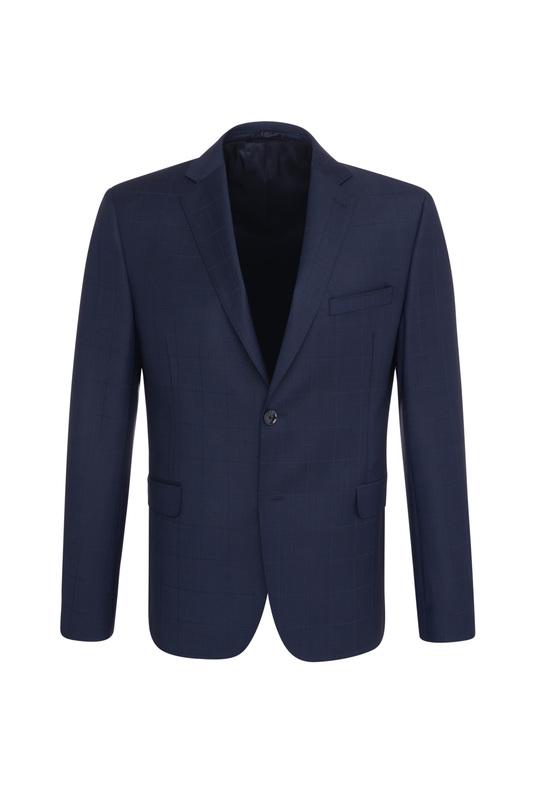 Pánske oblekové sako  , farba modrá