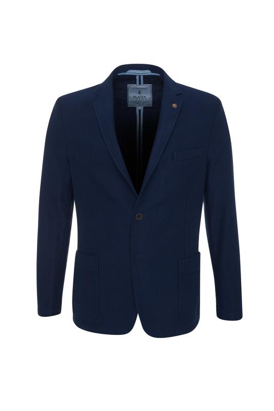 Pánske sako casual , farba modrá