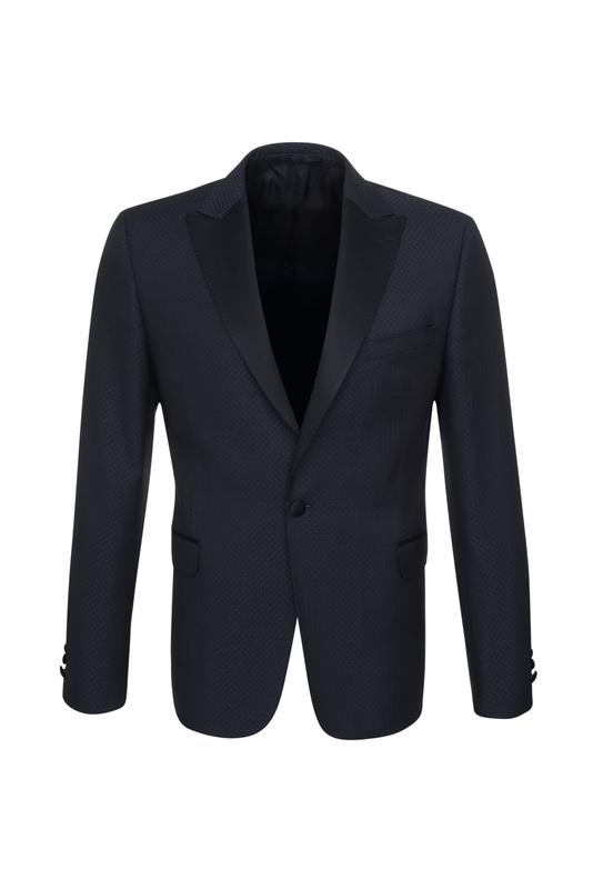 Pánske oblekové sako  , farba čierna