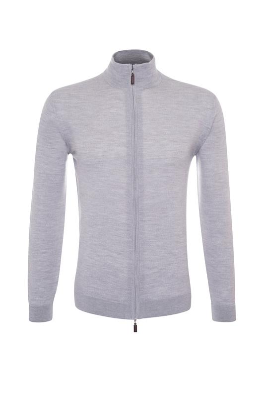 Pánsky sveter informal , farba sivá