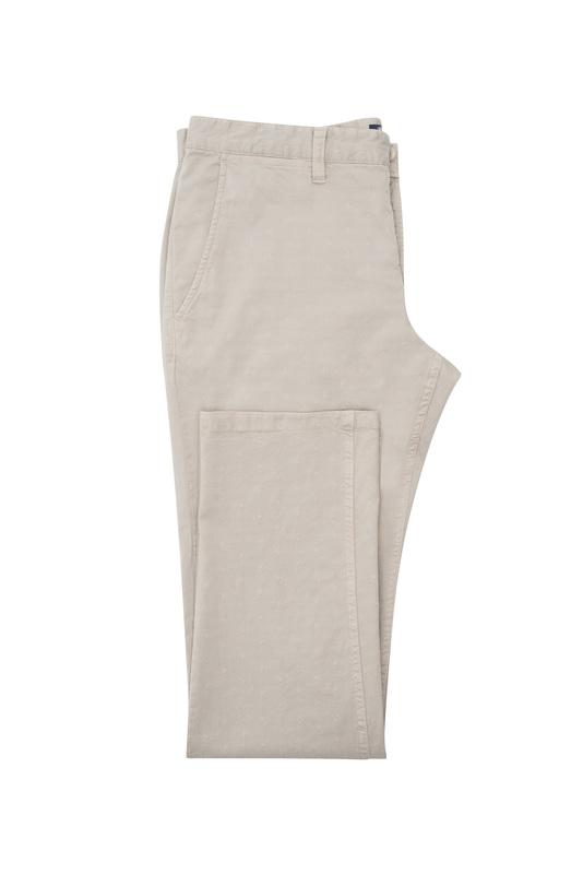 Pánske nohavice casual , farba béžová
