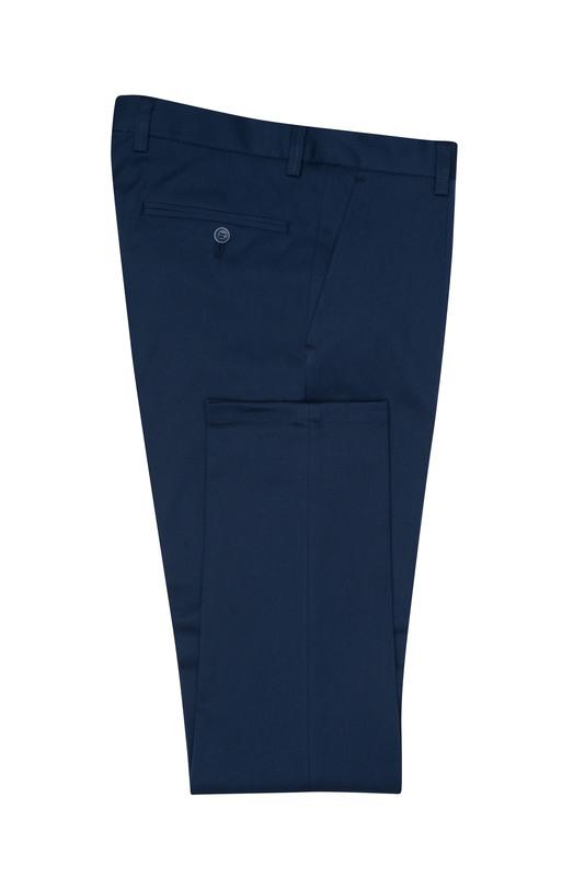Pánske nohavice  , farba modrá