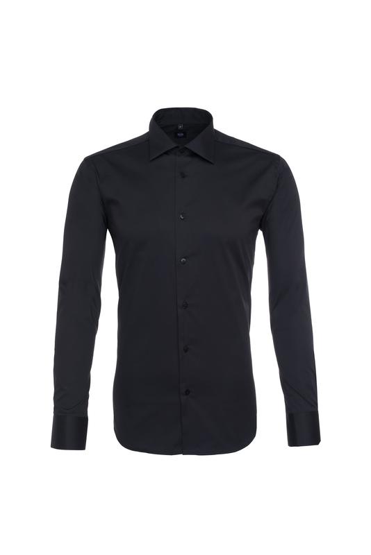 Pánská košeľa  , farba čierna