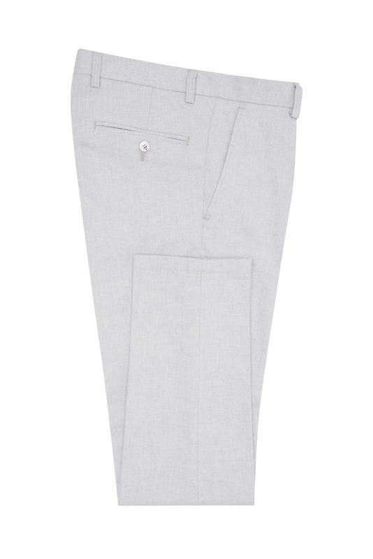 Pánske nohavice  , farba sivá