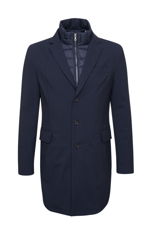 Pánsky plášť  , farba modrá