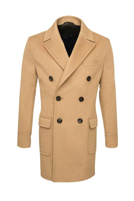 Pánsky plášť  , farba hnedá