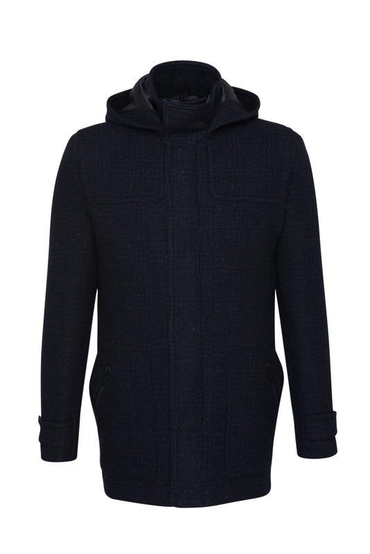 Pánsky plášť  , farba čierna