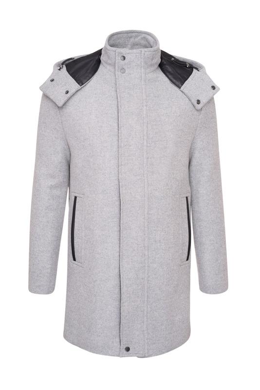 Pánsky plášť  , farba sivá