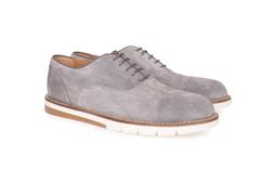 Pánska módna obuv  , farba sivá