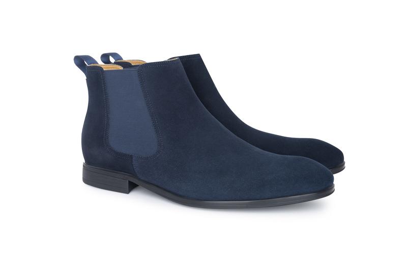 Pánska módna obuv  , farba modrá