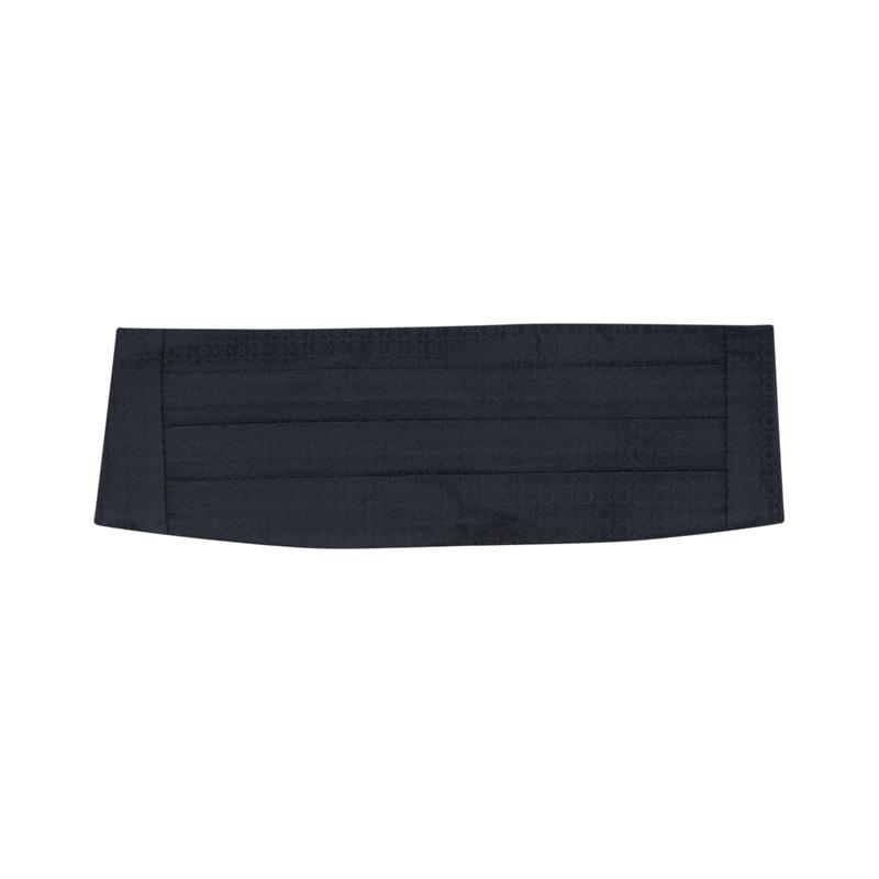 Smokingový pás  , farba čierna