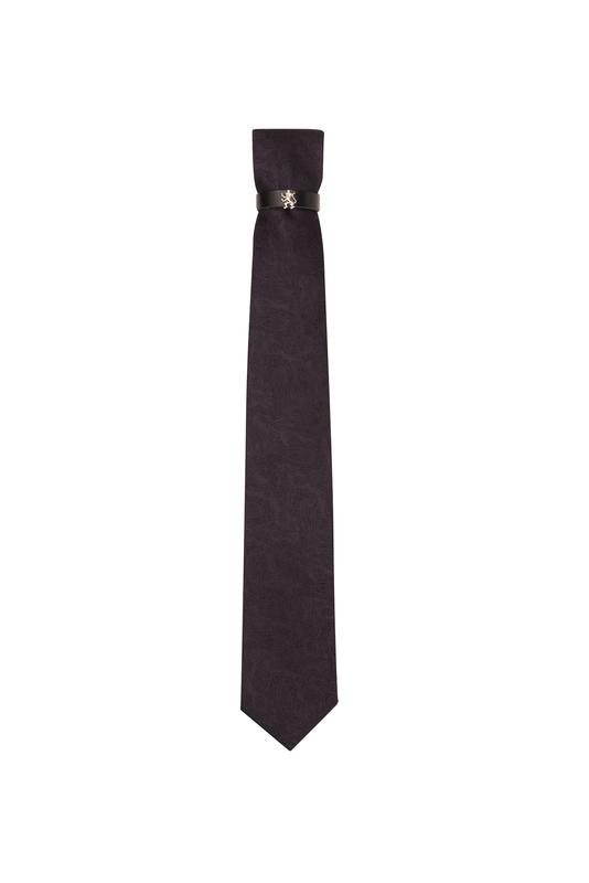 Kravata  , farba fialová