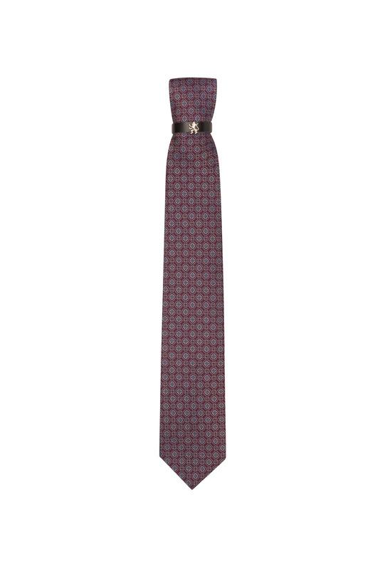Kravata  , farba vínová