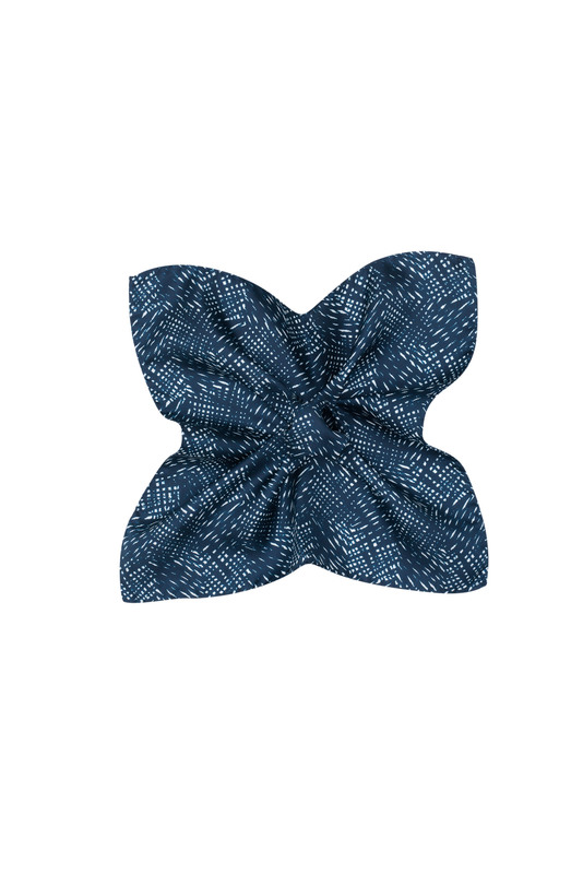 Vreckovka  , farba modrá