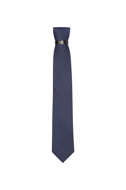 Kravata  , farba šedá, modrá