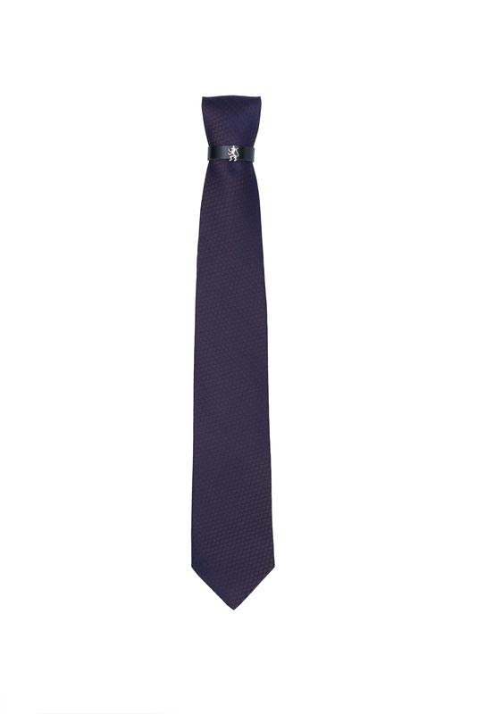 Kravata  , farba hnedá, modrá
